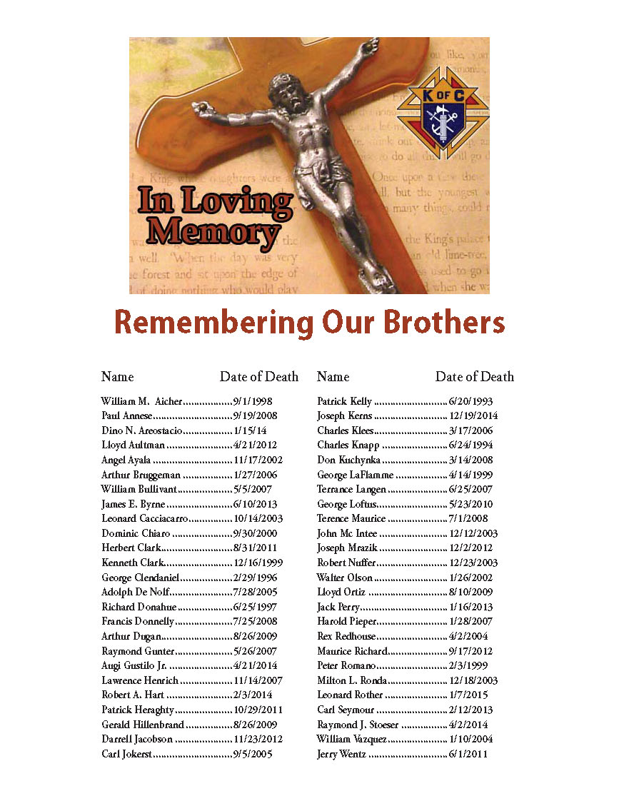 Remembering our Brothers
